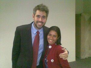 Nino Carvalho e a minha pessoa