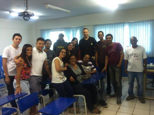 Turma do nosso primeiro curso de mobilização nas Redes Sociais, na Faculdade JK, de Taguatinga